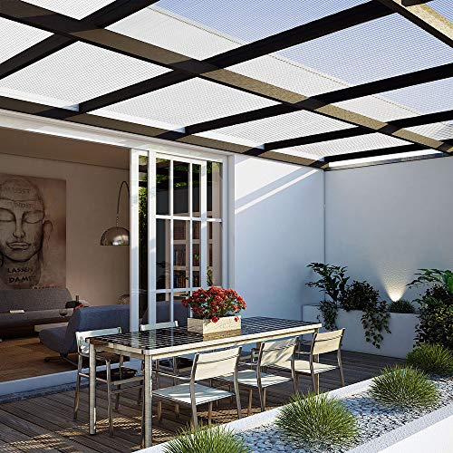 Deuba Hohlkammerstegplatten 14 Stück | 10,25 m² | - 2
