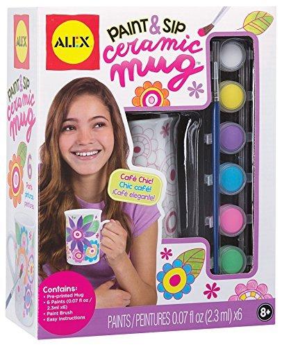 ALEX Toys Craft Paint and Sip Ceramic Mug by ALEX Toys