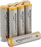 AmazonBasics Lot de 8 piles alcalines Type AAA 1,5 V 1340 mAh (design variable)