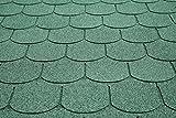 Die besten Dachschindeln - Dachschindeln Biberschwanz 3 m² mit Glasvlieseinlage Bitumenschindeln Schindeln Bewertungen