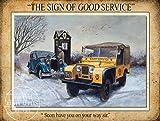 Die Rostigen Äpfel Metal Sign Co Vintage AA Breakdown Werbung/Metall Poster Schild