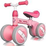 Peradix Baby balanscykel, baby gåstol tryckcykel baby åker på cykel för 1 2 3 år gamla pojkar flickor barn och småbarn första