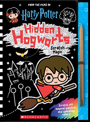 Hidden Hogwarts: Scratch Magic Harry Potter