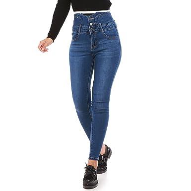 Amazon Femme Jean Myeasycar Taille Tbf0xqw Haute yn0wOv8mN