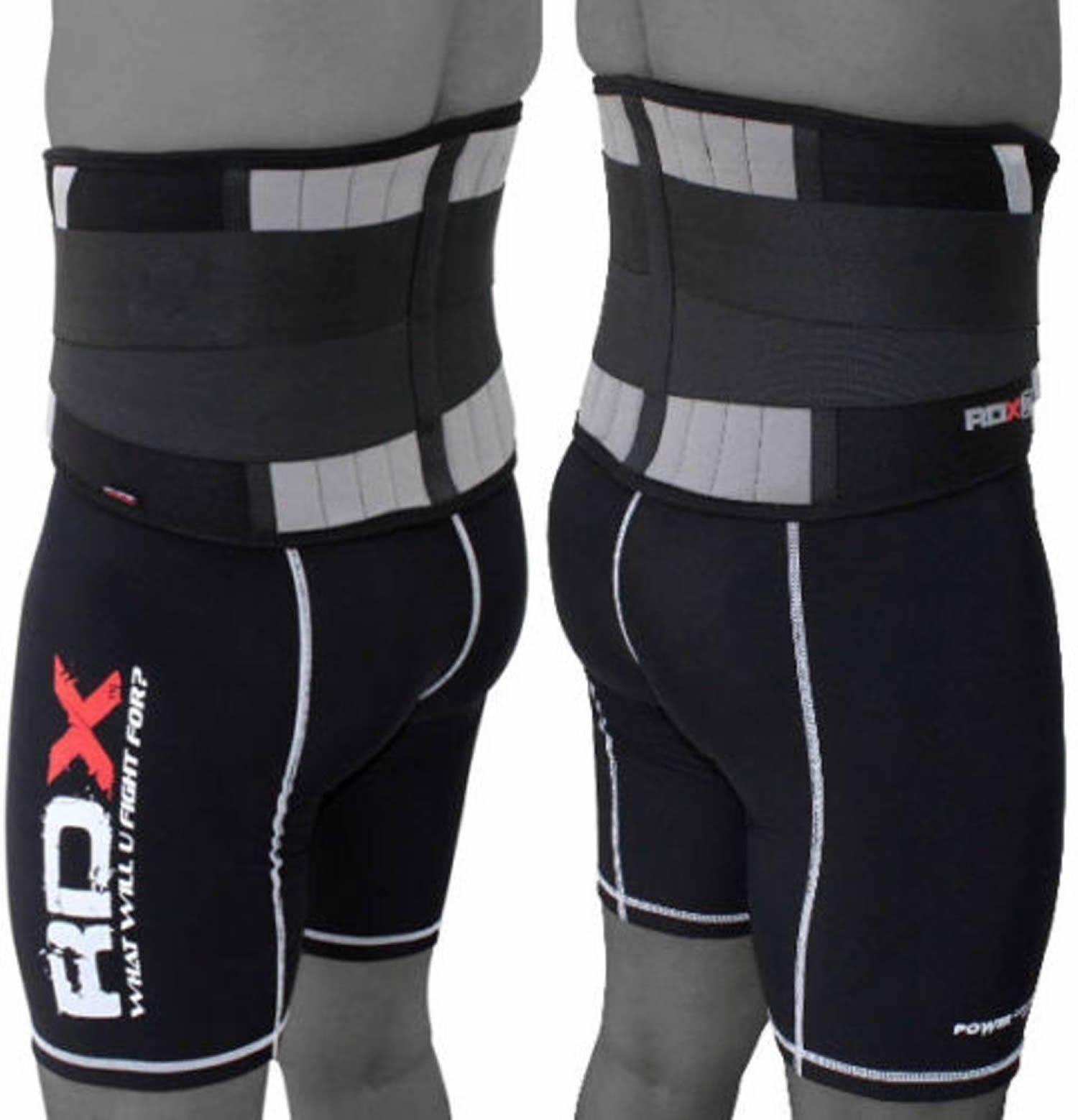RDX Cintura Lombare Neoprene Sollevamento Pesi Pesistica Fitness Allenamento Bodybuilding Schiena Pa