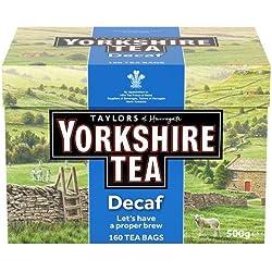 Taylors of Harrogate Yorkshire Tea Decaffeinated 160 Btl. 500g - entkoffeinierter britischer Schwarztee