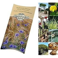 """Saatgut Set:""""Exotische Pflanzen"""" 6 besondere Nutzpflanzen der Tropen und Subtropen als Samen in schöner Geschenk-Verpackung"""