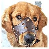 Bozal ajustable transpirable de seguridad para perro, tamaño pequeño, mediano y grande