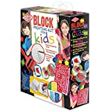 Essdee P6K4K Block Printing Kit for Kids