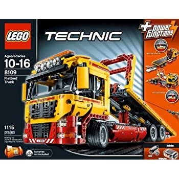 Lego Technic 8109 Flatbed Truck Toy Amazon Co Uk Toys