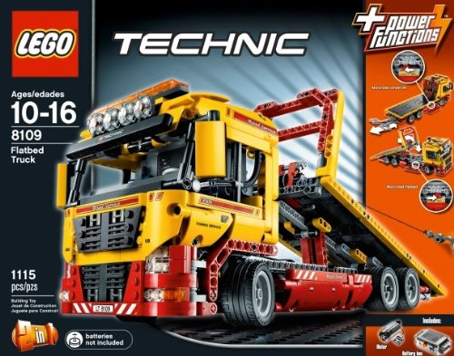 LEGO-Technic-8109-Flatbed-Truck-Toy