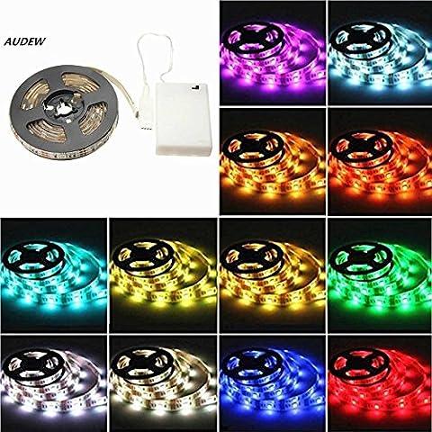 AUDEW Striscia LED flessibile batteria AA Potenza