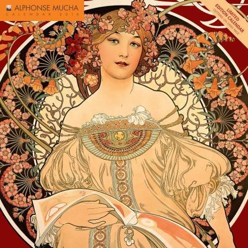 Alphonse Mucha limited edition wall calendar 2016 (Art calendar)