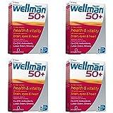 Vitabiotics Wellman 50 + avancé micronutriments formule faisceaux - Pack of Four