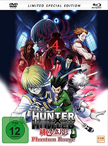 HUNTERxHUNTER - Phantom Rouge (Special Edition im Mediabook inkl. DVD + Blu-ray) (2-Disc-S Preisvergleich