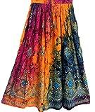 Bunte Womans Damen Indianer Boho Hippie Zigeuner Sequin Sommer Sommerkleid Maxi Bauchtanz Rock (10)