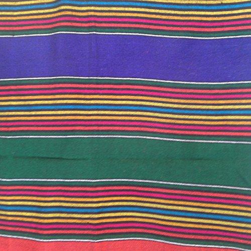 Masai/maasai etnico shuka coperte da picnic/tavolo o copriletto/copridivano/bodywrap panno a righe–blu, rosso, verde