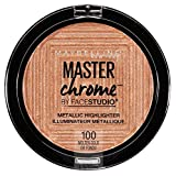 MAYBELLINE FaceStudio Master Chrome Metallic Highlighter - Molten Gold Or Fondu