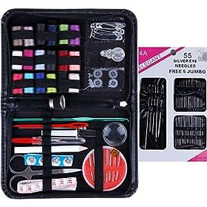 Anpro 114pc accessoires couture set de couture applicable for Coffret couture avec accessoires