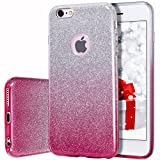 iPhone 6s Case, Milprox Girls SHINY GLIT...