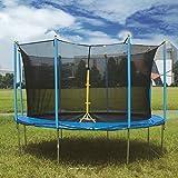 10ft 12ft 14ft Grand Challenger Sports Trampolin mit Sicherheitsnetz für Kinder und Erwachsene