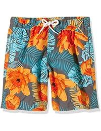 Miami Beach Swimwear Jungen Badeshorts mit Blumen-Print