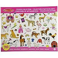Melissa & Doug Sticker Collection - Color Rosa (10 páginas temáticas con más de 700 pegatinas)