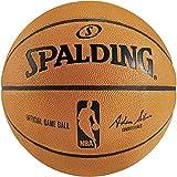 Spalding NBA Game Ball Replica Basketball (orange, 7)