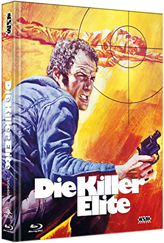 Die Killer Elite [Blu-Ray+DVD] - uncut - auf 333 limitiertes Mediabook Cover C [Limited Collector's Edition] [Limited Edition]