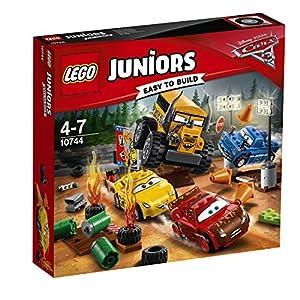 LEGO- Juniors Pit Stop di Guido E Luigi Costruzioni Piccole Gioco Bambina, Multicolore, 10732  LEGO