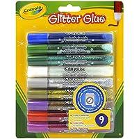 Crayola - 3.3542 - Glitter Glue - Loisir Créatif - Couleurs Assorties