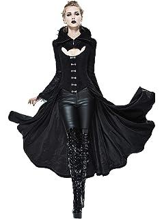 c2485cf9baf086 Devil Fashion Frauen Winter/Herbst Gothic Mantel Steampunk Jacke Jacke, 7  Gr??