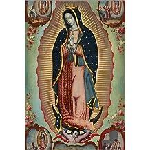 78e4dbf6df2f Posterlounge Cuadro de metacrilato 20 x 30 cm  Virgin of Guadalupe de  Nicolas Enriquez
