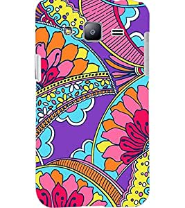 PrintDhaba MULTICOLOR DESIGN D-6828 Back Case Cover for SAMSUNG GALAXY J2 (Multi-Coloured)