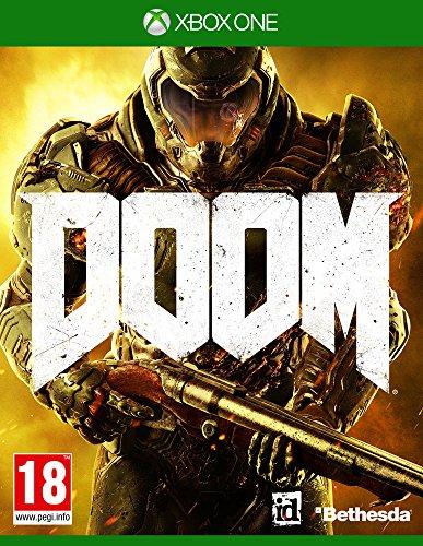 Bethesda DOOM, Xbox One Básico Xbox One Inglés vídeo - Juego (Xbox One, Básico, Xbox One, FPS (Disparos en primera persona), RP (Clasificación pendiente), Inglés, Id Software)