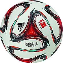 Adidas Matchball TORFABRIK Bundesliga 2014/2015 white-solar red-vivid mint - 5