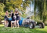 US Car Classics 2018 - Klassische amerikanische Autos und PinUp Girls (Wandkalender 2018 DIN A3 quer): Klassische US Oldtimer zusammen mit Pin up ... ... [Kalender] [Apr 01, 2017] Suhl, Michael - Michael Suhl