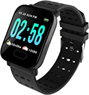 Smart Watch Bluetooth Sports Bracelet Heart Rate Sleep Blood Pressure Monitoring APP Control IP67 Waterproof for Outdoor Spor