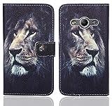 Samsung Galaxy Xcover 3 Handy Tasche, FoneExpert® Wallet Case Flip Cover Hüllen Etui Ledertasche Lederhülle Premium Schutzhülle für Samsung Galaxy Xcover 3 (Pattern 4)