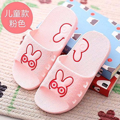 Bambino Fresco I Doghaccd Uomini Cute Casa Pink4 Le Pantofole Del E Bambini Del Degli A Rimanere Piscina Cartoon Pantofole Pantofole Bagno Donne Per Di Estate Bambini wRZwt