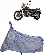 MotRoX Ultrathin Japanese Silver Two Wheeler Cover for Bajaj Avenger 220 Street (100% WaterProof Fabric)