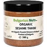 500 g Bio Sesam Tahini van 100% hele zaden, vrij van gluten, emulgatoren, palmolie, suiker, conserveermiddelen
