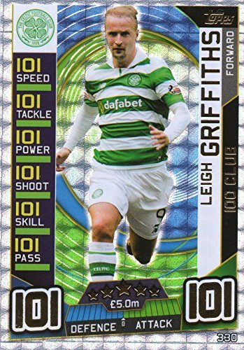 2016 17 MATCH ATTAX SPFL LEIGH GRIFFITHS 100 CLUB - CELTIC - SPL 16 17