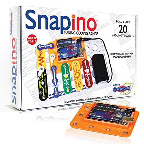 snapino-Sie Codierung Einer Snap-Arduino kompatibel - Brot Board Raspberry Pi