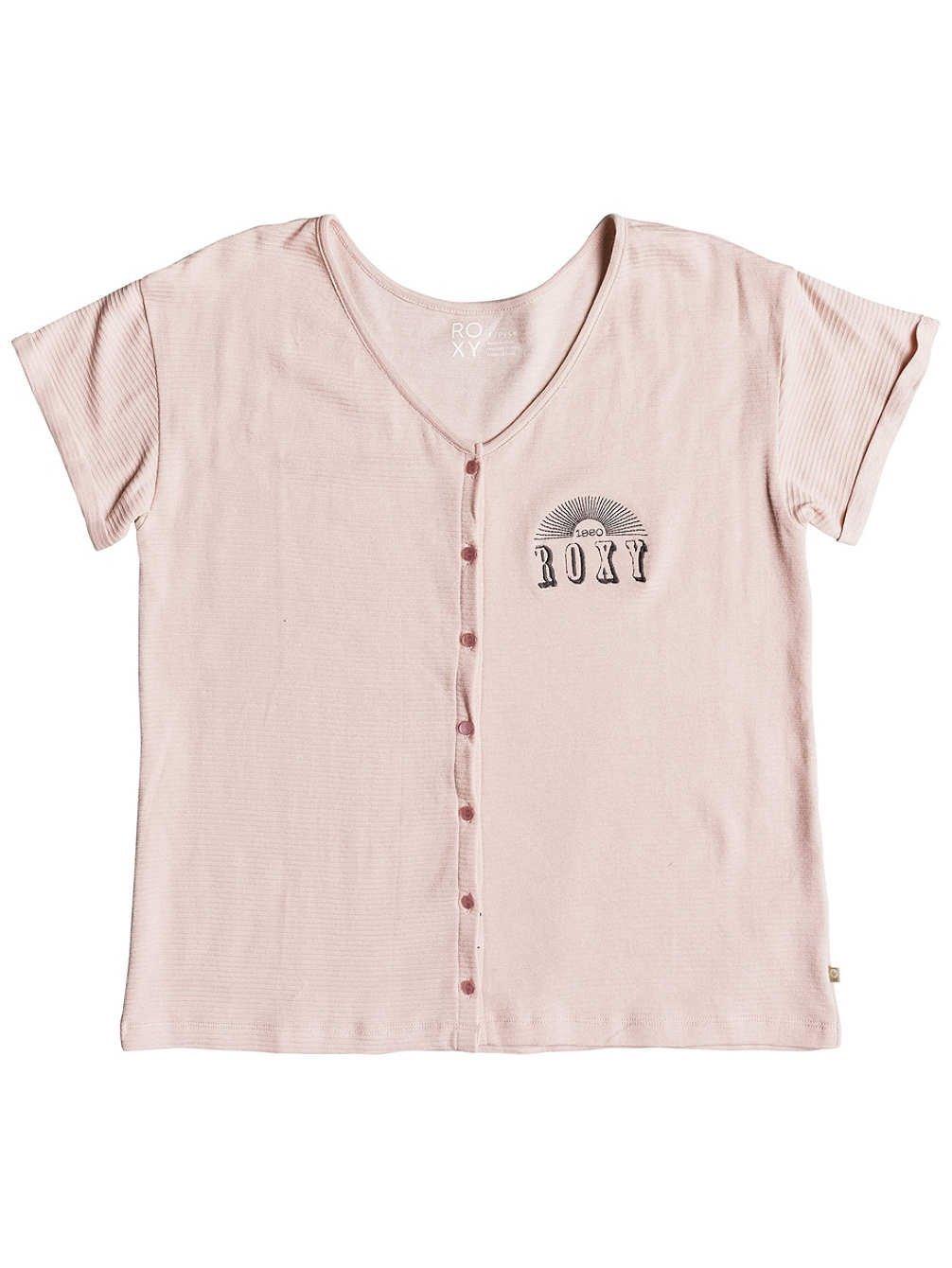 Roxy Never Give Up – Camiseta Abotonada para Mujer ERJZT04341