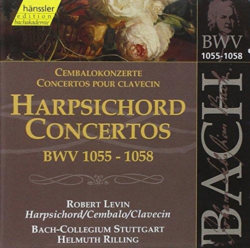 Bach: Harpsichord Concertos BWV 1055-1058