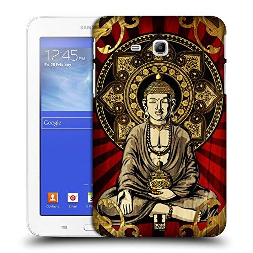 Head Case Designs New York Monumenti Dei Paes Cover Morbida In Gel Per Apple iPhone 7 Plus / 8 Plus Buddah Seduto Di Bangkok