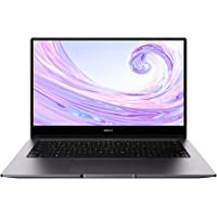 "HUAWEI MateBook D 14"" Notebook Portatile, Processore AMD Ryzen 5, 8 GB RAM, 512 GB SSD, Schermo FullView 1080P FHD, Sensore Impronte Digitali, Windows 10 Home, Laptop, Grigio"