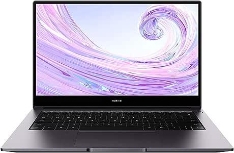 HUAWEI MateBook D 14 2020 PC Portable 14'' 1080p FHD (AMD Ryzen 5 3500U, RAM 8Go, SSD 256Go, Windows 10 Home, Clavier Français AZERTY), Gris