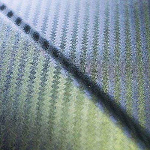 Dachbox VDP-BA320 schwarz Dachkoffer 320 Liter Autokoffer Carbon Look abschließbar - 5